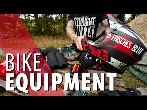 Mein Bike Equipment - MTB Freeride Dirt Jump
