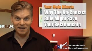 Why The No-Contact Rule Might Save Your Relationship