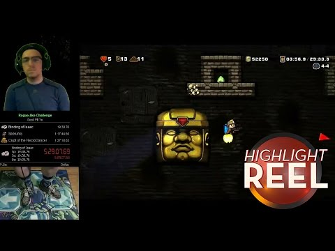 highlight - Leave a comment or post your own video here: http://kotaku.com/spelunky-beaten-with-a-dance-pad-controller-1650023840 Highlight Reel is Kotaku's regular roundup of amazing plays, stunts, records, ...