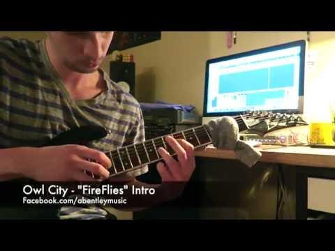 Awesome Fireflies Owl City Guitar Chords Adornment Beginner Guitar