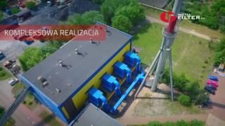 Redukcja emisji pyłów - instalacja INSTAL-FILTER SA w Oleśnicy