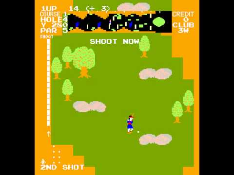 Arcade Game: Tournament Pro Golf (1981 Data East)