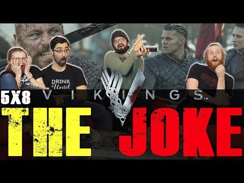 Vikings - 5x8 The Joke - Group Reaction