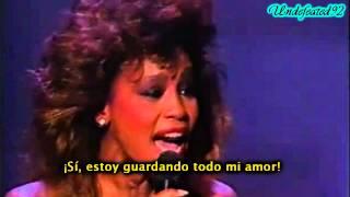"Whitney Houston ""Saving All My Love for You"" Grammys 1986 HD [Subtitulada Español]"