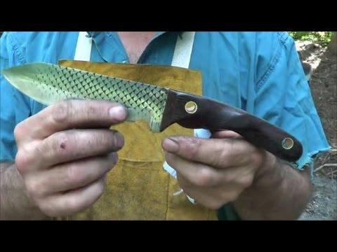 Forging A Rasp Chopper Knife From A Farrier's Rasp - Part 1