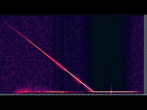 Beautiful radio meteor detected: 2019-11-02 at 22:18 UTC uploaded by William Brasolin