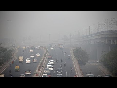 Ινδία: Τραγικά τα επίπεδα ατμοσφαιρικής ρύπανσης στο Νέο Δελχί