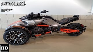 8. Otto Bike l 2019 Can Am Spyder F3 l F3 S Engine and Price Overview
