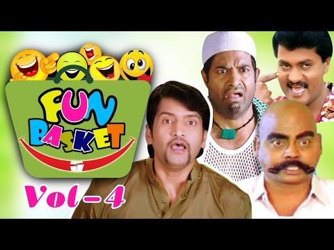 Fun Basket || Jabardasth Telugu Comedy Back 2 Back Comedy Scenes Vol-04 || Latest Telugu Comedy (видео)