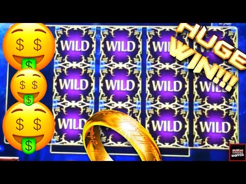 Lord of the Rings Slot Machine Bonus – Galadriel's Stairway – Big Win!