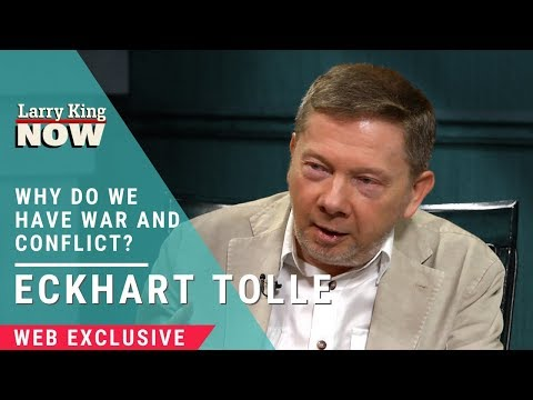 Eckhart Tolle Interview: Why is There So Much War and Conflict?