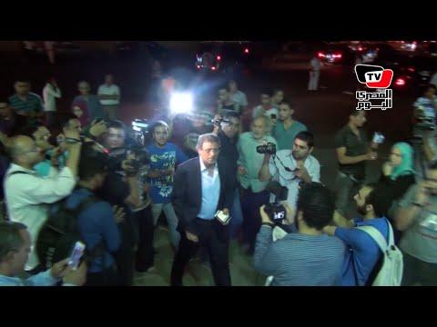 «خالد يوسف والحفناوي والصريطي» في عزاء محمد خان