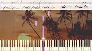 Mist - Andre Gagnon (Ноты и Видеоурок для фортепиано) (piano cover)