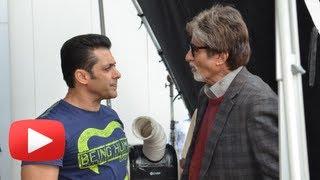 Salman Khan Gets Surprise Visit By Amitabh Bachchan- Jai Ho First Look
