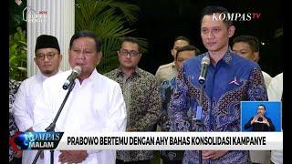 Video AHY Bertemu Prabowo Bahas Konsolidasi Kampanye MP3, 3GP, MP4, WEBM, AVI, FLV Maret 2019