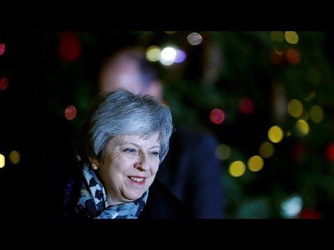 Großbritannien: May kämpft nach gescheitertem Misstra ...