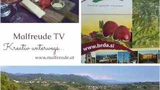 Kreativ unterwegs in der slowenischen Toskana