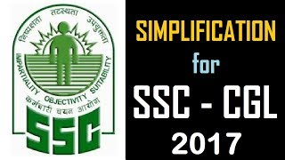In this video we shall discuss Simplification for SSC CGL 2017. Most of the exams including Bank Examinations like IBPS - PO and Clerk , RAILWAYS,SSC, BANK PO, RRB PO, RBI CLERK, SSC MTS, LIC, RBI and other competitive exams consist of questions from this topic and many students facing difficulty while solving these questions. Here, We tried to help you by providing these daily videos. You will definitely find change in your speed and accuracy while solving these type of questions.**************************************************Subscribe Us :   https://www.youtube.com/channel/UCKQ5AV1FRAVRy381SVlsDqQ?sub_confirmation=1**************************************************Like & Follow Our Facebook Page: https://www.facebook.com/fuelupacademy/Follow us on Twitter: https://twitter.com/fuelupacademyFollow us on Instagram : https://www.instagram.com/fuelupacademy/*********************************************Contact : info@fuelupacademy.com,  fuelupacademy@gmail.com*********************************************Web : www.fuelupacademy.com