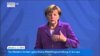 Deutsch-polnische Beziehungen: Angela Merkel & Ewa Kopacz zu europäischen Fragen am 09.10.2014
