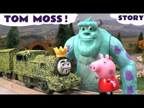 Fair(y) - Peppa Pig gets her crown stolen by Tom Moss The Prank Engine. Thomas The Tank Engine takes her to his forest to rescue the crown but runs into 3 Monsters from Disney Monsters University. Luckily.