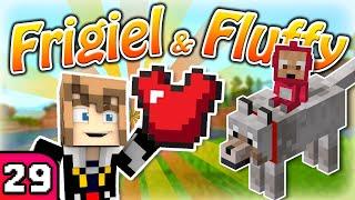FRIGIEL & FLUFFY : L'armure en cuir de Fluffy ?!? | Minecraft - S7 Ep.29