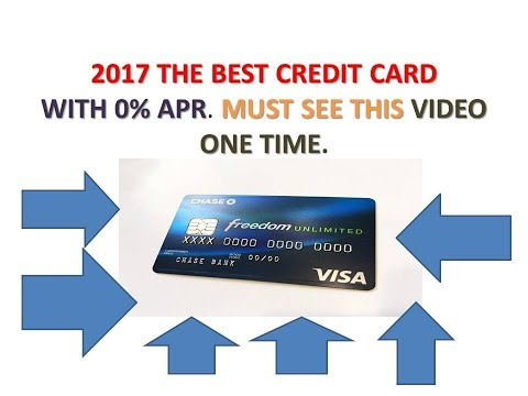 Best No Annual fee Credit Card - Chase Freedom Unlimited (The best ) Credit card  review