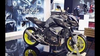 9. 2018 Yamaha MT-10 price USD 12,999  | 2018 Yamaha MT-10 at 2018 India Auto Expo