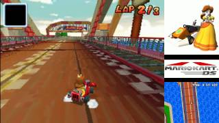 this track got way simpler here compared to the original. the biggest change is that you can't drive on the bridge's supports like in the GC version.