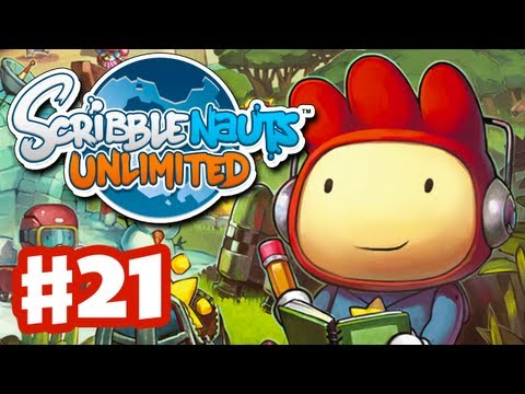 Scribblenauts Unlimited - Gameplay Walkthrough Part 21 - Lost Kingdom of Parentheses (PC, Wii U, 3DS) (видео)
