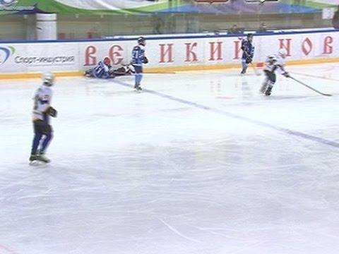 В Великом Новгороде прошел второй этап первенства Северо-Запада по хоккею с шайбой среди юношей 2002 года рождения