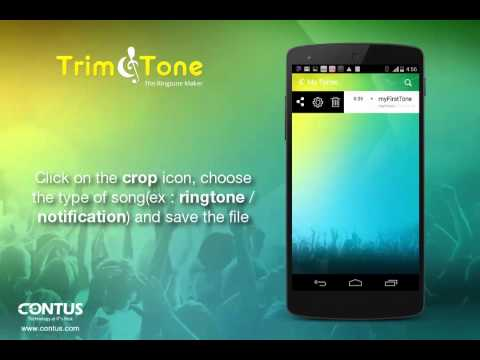 Video of Trim & Tone-The Ringtone Maker