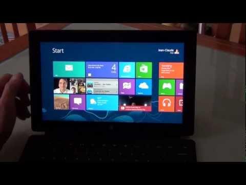 Test Microsoft Surface Tablet und Windows RT