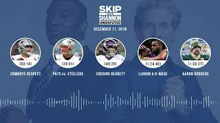 Video UNDISPUTED Audio Podcast (12.11.18) with Skip Bayless, Shannon Sharpe & Jenny Taft | UNDISPUTED MP3, 3GP, MP4, WEBM, AVI, FLV Desember 2018