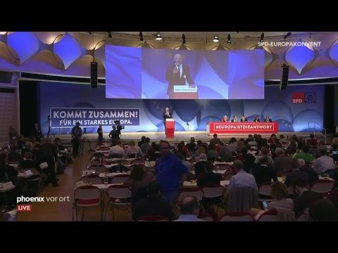Europakonvent der SPD am 23.03.19 zum Wahlprogramm für  ...