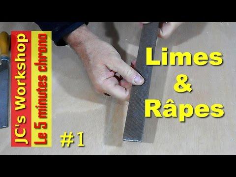 Limes à métaux et râpes à bois pour l'atelier du bricoleur - 5mc #1