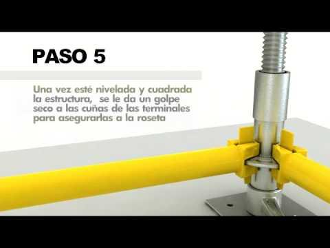 cimbra - Guía de armado del Andamio Multifuncional Cimbra. Andamio Certificado.