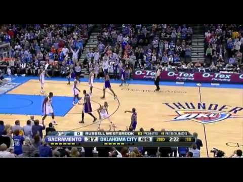 Thunder blow the Kings away, 115-89