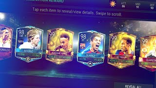 Video BEST PACK OPENING IN FIFA MOBILE SO FAR - INSANE LUCK PACK COMPILATION!! MP3, 3GP, MP4, WEBM, AVI, FLV Agustus 2017