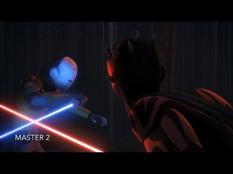 [Maul takes Kanan's eyesight] Star Wars Rebels Season 2 Episode 21/22 [HD]