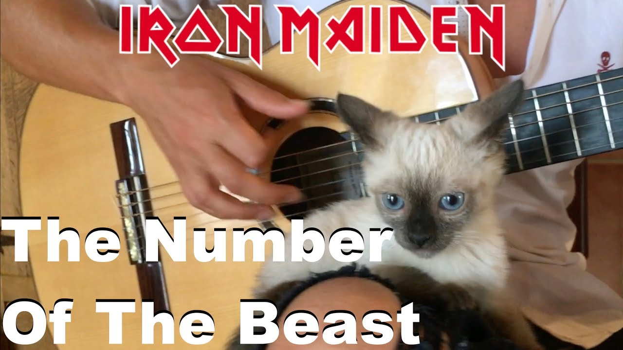 The Number Of The Beast (IRON MAIDEN) Acoustic – Classical Fingerstyle Guitar by Thomas Zwijsen