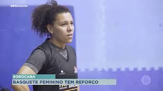 O time de basquete feminino de Sorocaba apresenta reforço para nova temporada