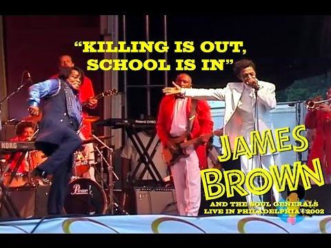 James Brown - Killing Is Out, School Is In  (Live, 2002) | Ultra Rare***