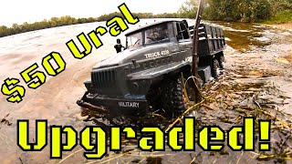 Video This Upgraded 6WD Ural RC Military Truck is awesome! But not waterproof! MZ YY2004 MP3, 3GP, MP4, WEBM, AVI, FLV Oktober 2018