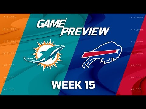 Video: Miami Dolphins vs. Buffalo Bills | NFL Week 15 Game Preview | NFL