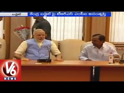 TRS MPs says the budget disappointed Telangana 01032015