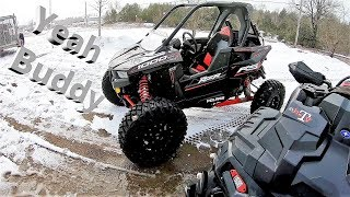 2. WANNA TAKE HER FOR A RIP! Polaris RS1 First Impressions