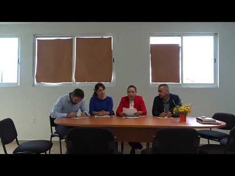 Instalación de Comisión Edilicia de Salud 22 de octubre de 2018