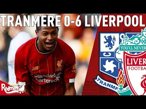 Brewster Looked Really Good! | Liverpool v Tranmere 6-0 | Match Reaction