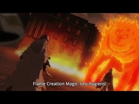 Black Clover Episode 23: True Power Of Captain Fuegoleon Vermillion