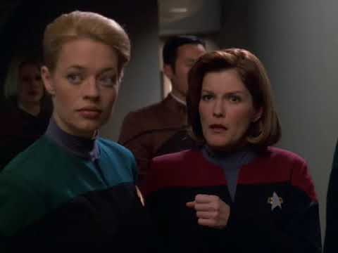 """Alright, let's just get started before my headache gets any worse.""  Captain Janeway"
